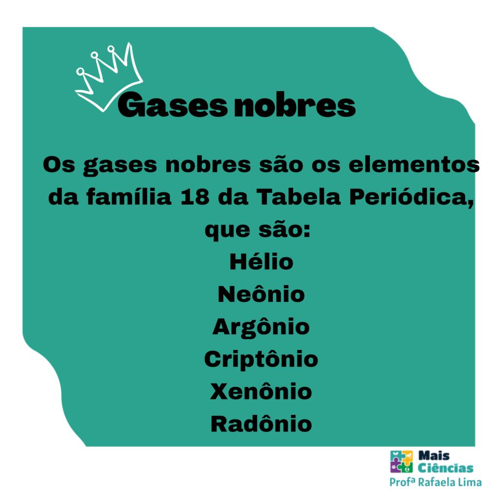 Gases nobres